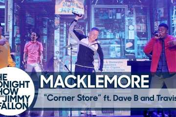 The Tonight Show | Macklemore With Dave B And Travis Thompson