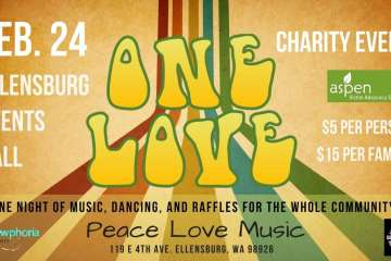 Celebrate One Love: A Charity Event in Ellensburg on 2/24