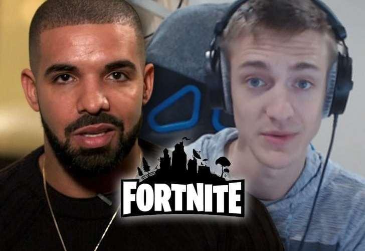 ninja and drake play fortnite duos