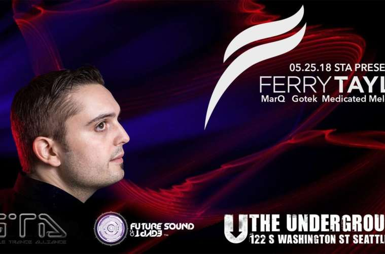 Ferry Tayle Makes His Seattle Debut At The Underground May 25!