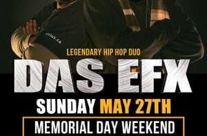 Legendary Rap Group Das EFX Invades Seattle May 27