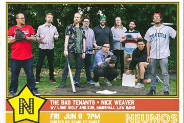 The Bad Tenants and Nick Weaver Are Co-Headlining Neumos Friday June 8