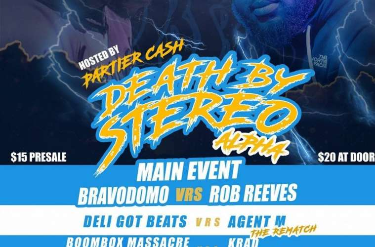 Death By Stereo Beat Battles Is Back With Its New Event Alpha