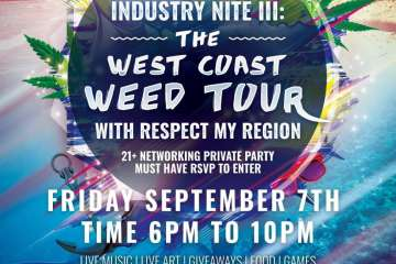 9/7 Passport Cannabis x West Coast Weed Tour: Networking Opportunities