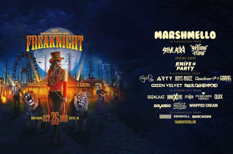 FreakNight 2018 Is Back This October With A Crazy Lineup