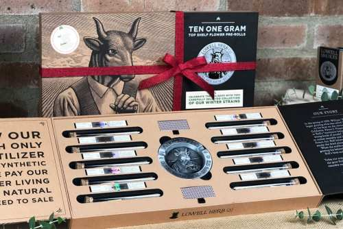 Lowell Herb Co Releases Gift Sets Just In Time For The Holidays