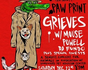 Grieves Is Throwing A Benefit Show For Homeward Pet Adoption Center