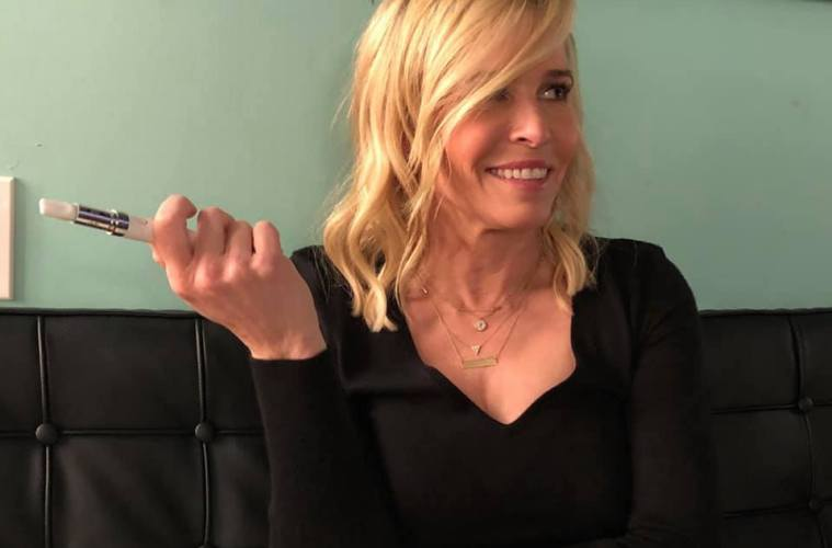 Chelsea Handler Announces Stylus Vaporizer With Canndescent