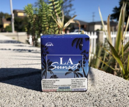 Los Angeles Kush Cannabis Review (Ft. LA Sunset)