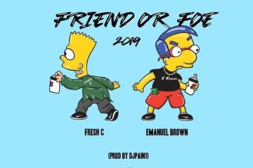 """Fresh C Needs To Know """"Friend or Foe"""" In New Single Ft. Emanuel Brown"""