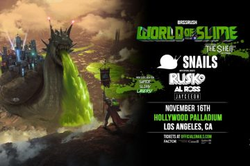 The Hollywood Palladium Will Never Be The Same Thanks To SNAILS' World Of Slime Tour (Ft. Rusko, Al Ross, + Jayceeoh)