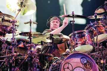 Legendary Drummer Neil Peart of Rush Passes Away at 67