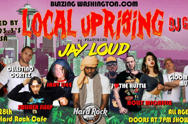 Blazing Washington's Local Uprising Showcases A Bevy Of Pacific Northwest Talent Including Jay Loud and Jarv Dee