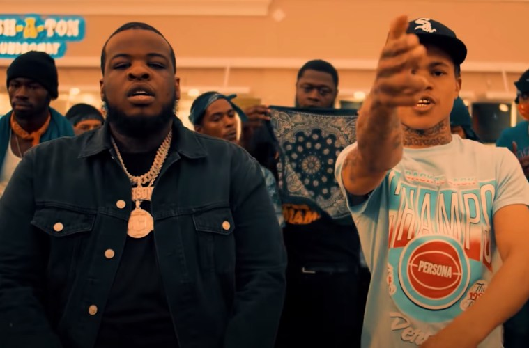"Maxo Kream Links With STL's 30 Deep Grimeyy For A Mob Classic Called ""HANDICAP CRIP"""