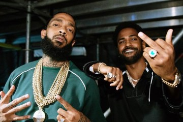 Nipsey Hussle and Big Sean