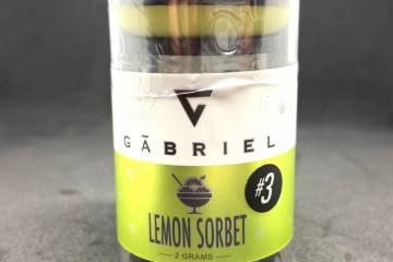 Lemon Sorbet #3: Creamy Lemon Flavors Provide A Cerebral High