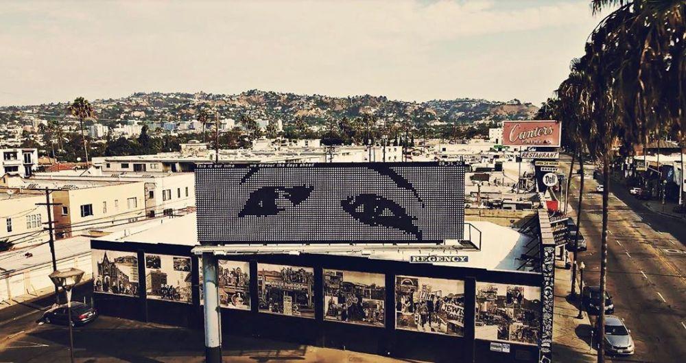 Ohms Billboard in Fairfax LA