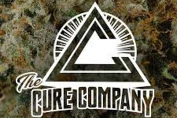 The Cure Company Logo Real OG Strain Review Featuring 5G Smalls Cannabis Co