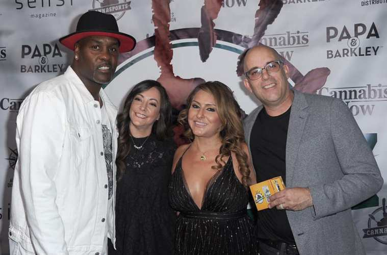 Raquel at the Gary Payton Launch Party