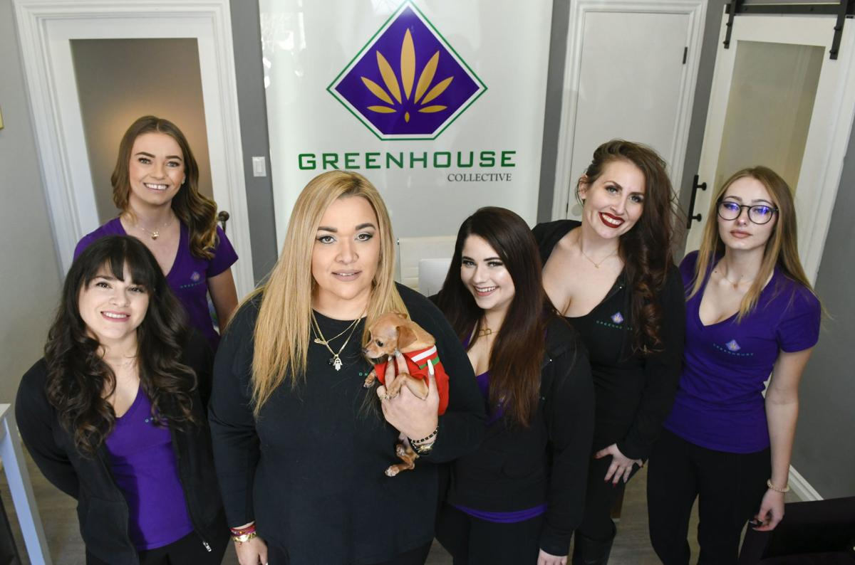 Laura Bonet and her staff at the GreenHouse Collective.