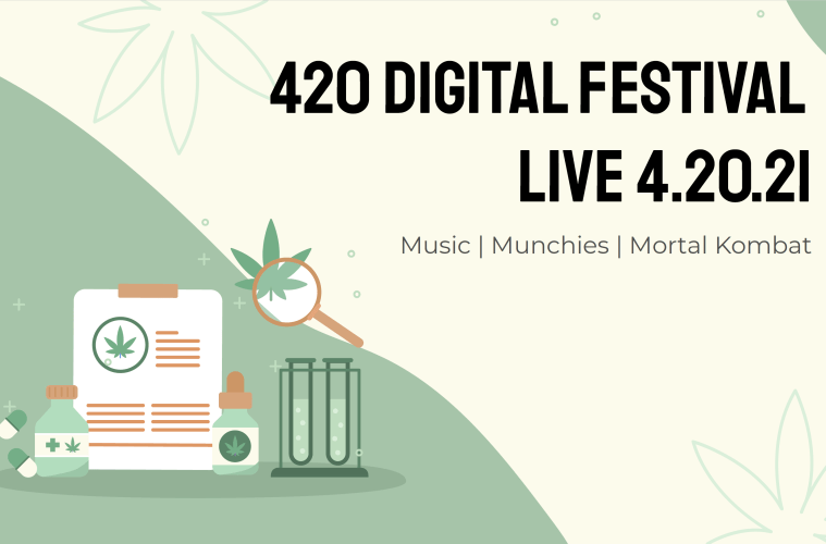 """Joshua Gray and Clutch8 Productions Present """"420 DigiFest"""" Virtual Event"""