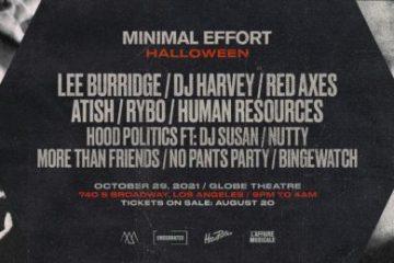 minimal effort halloween