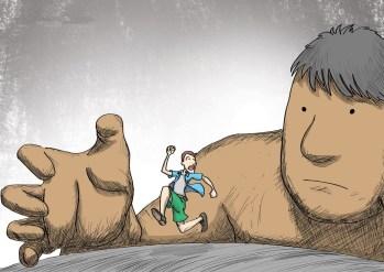 Fugindo do gigante - sem fé
