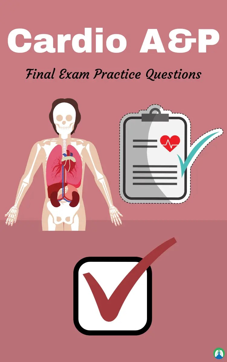 Cardio A&P Final Exam (Practice Questions) | Respiratory Therapy Zone