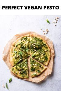 Perfect vegan pesto