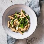Asparagus Mushroom Pasta