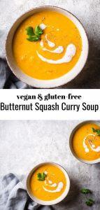 butternut squash curry soup lp