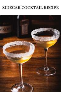 Sidecar Cocktail Recipe for two