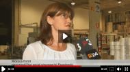 Mònica Fornt, directora de Responsabilitat Social de Papelmatic, entrevistada a TV3 per la firma dels Acords voluntaris de CO2