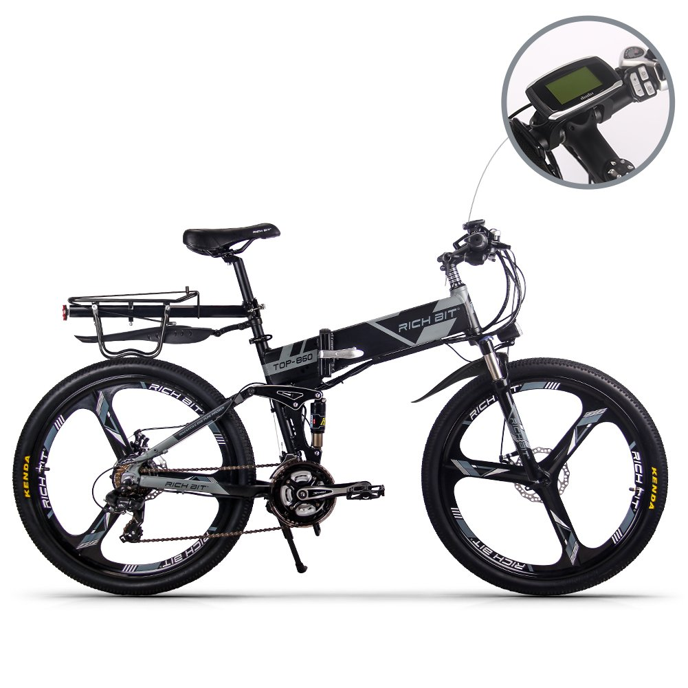 Vélo Electrique pliant RICH BIT RT-860