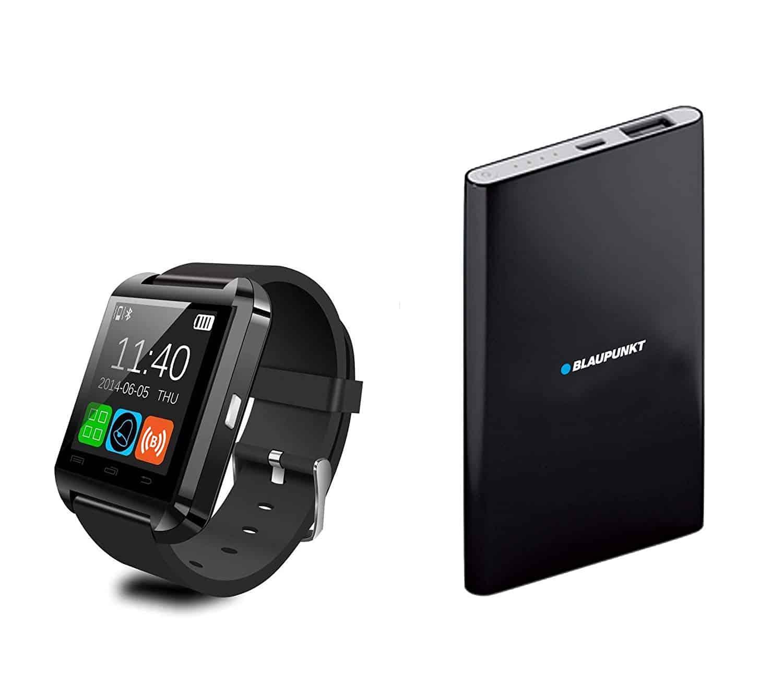 BLAUPUNKT BLP1800 Montre Connecté + Chargeur Externe Bluetooth