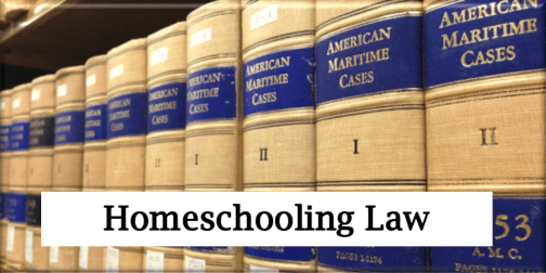 Homeschooling Law