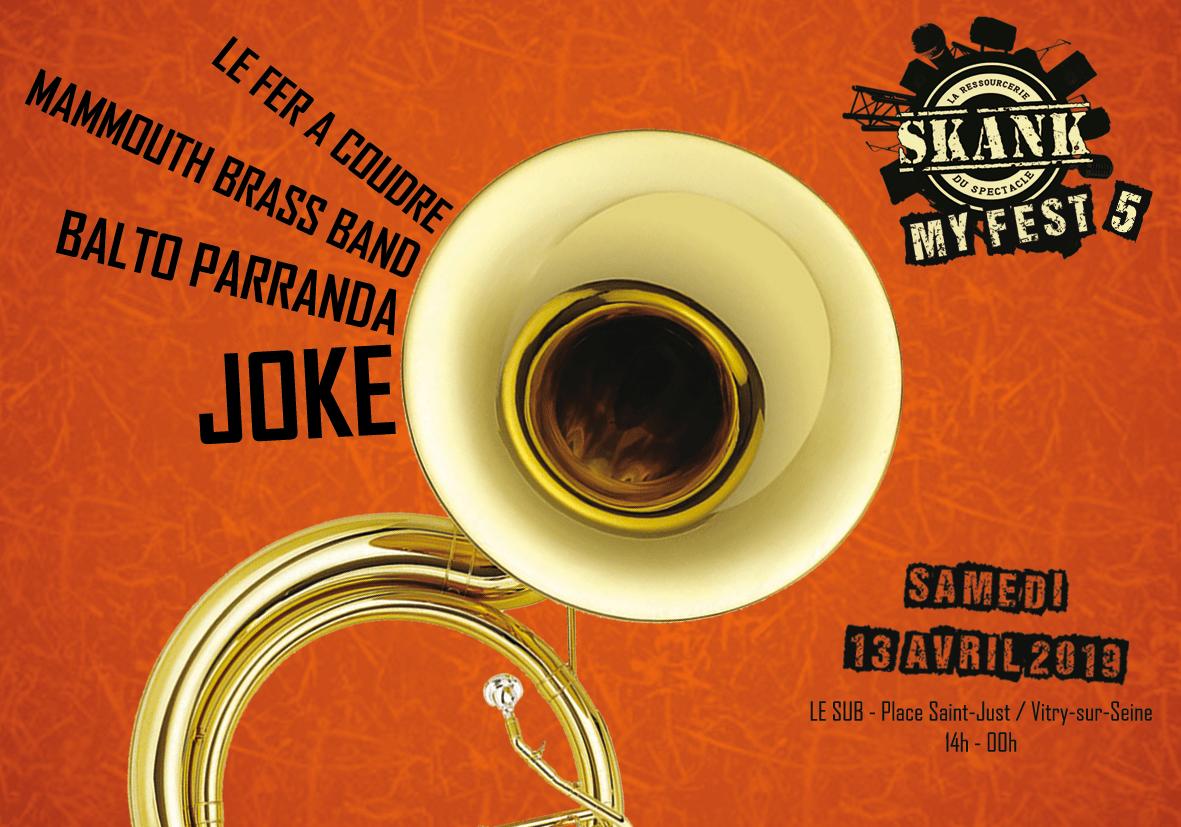 Skank My Fest @Le Sub / Vitry-sur-Seine