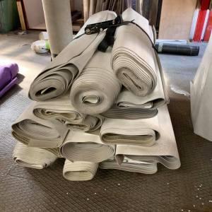 Lot de rouleaux de lino gris