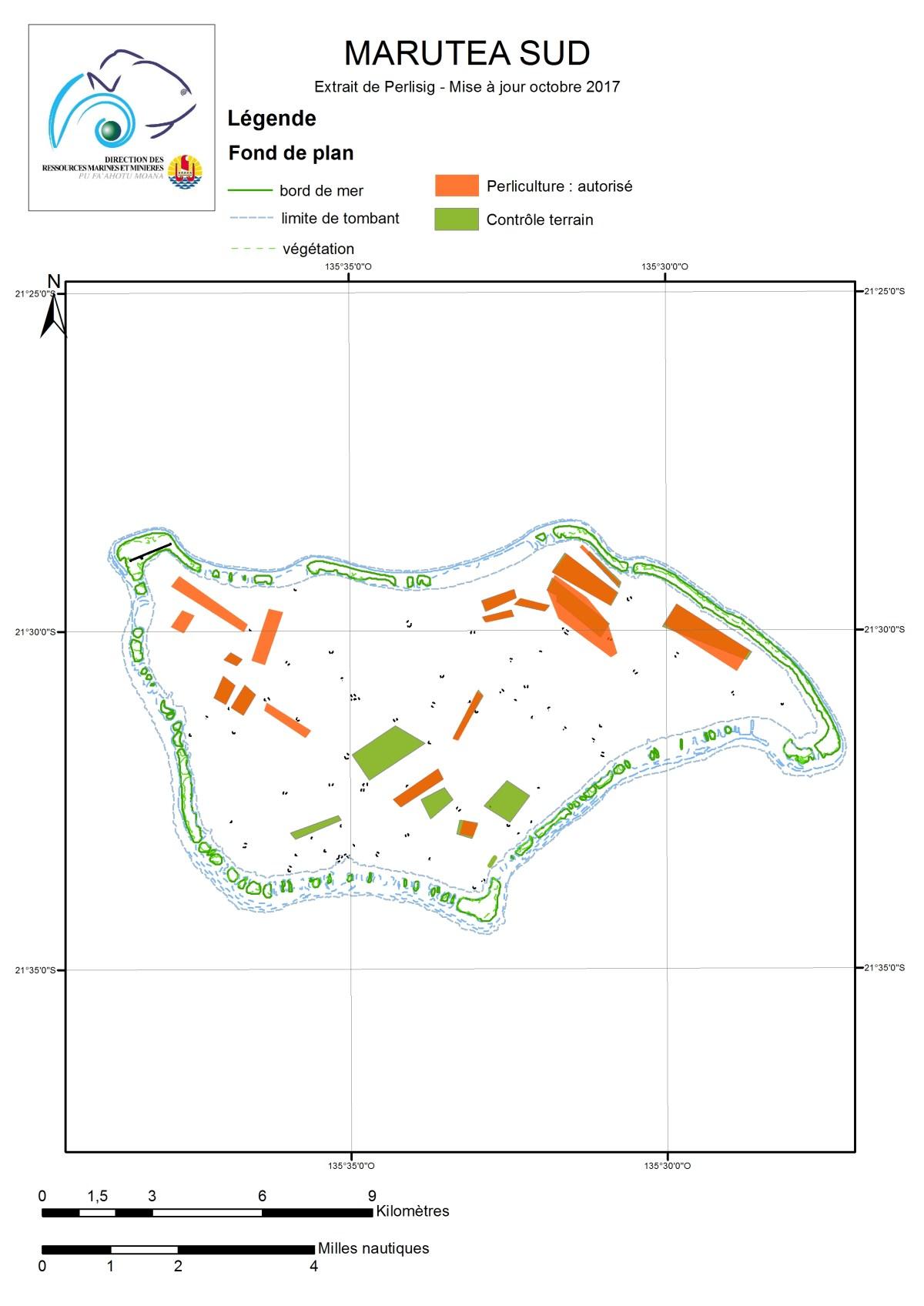 Atlas de Polynésie : Marutea Sud