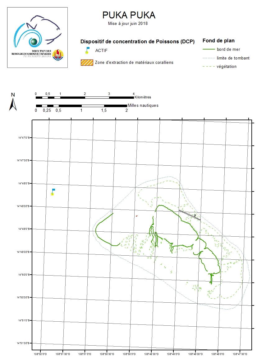 Atlas de Polynésie : PUKA PUKA mise à jour juin 2018