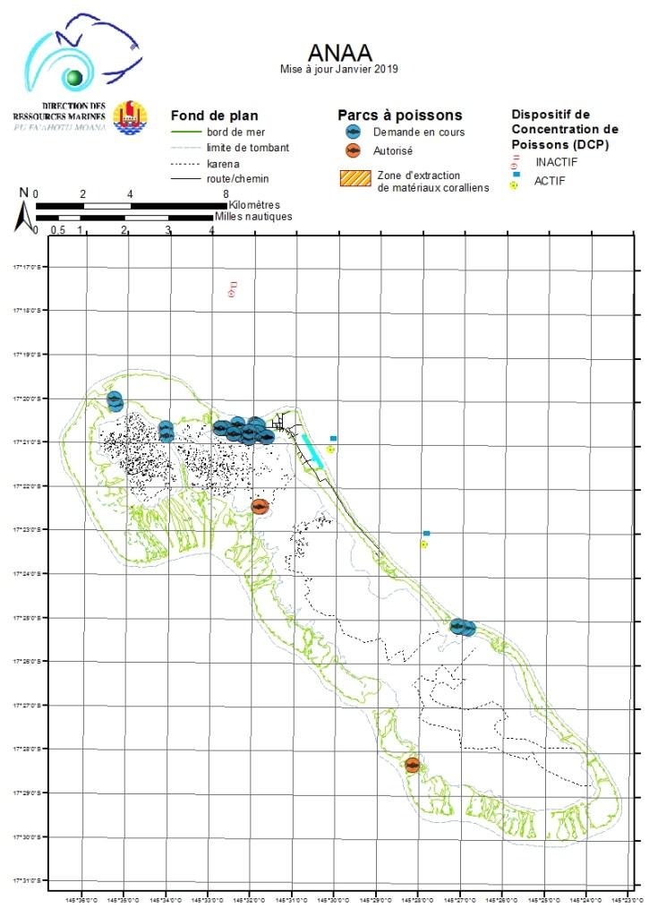 Atlas de Polynésie : Anaa