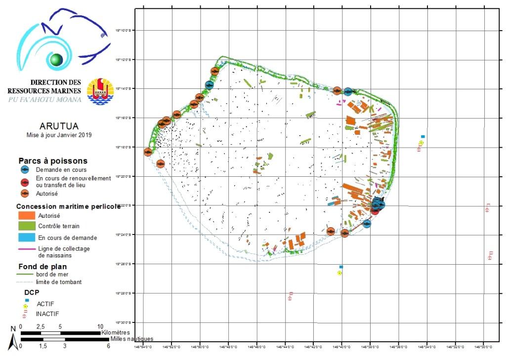 Atlas de Polynésie : Arutua
