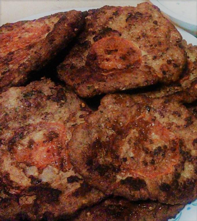 Peshawari Chappli Kabab