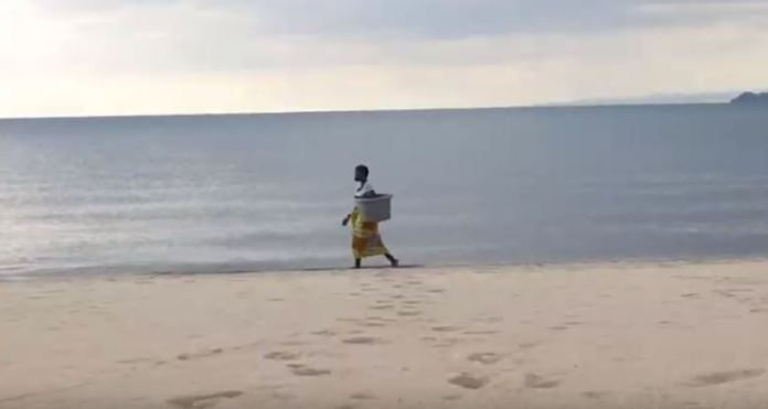Woman on Lake Malawi