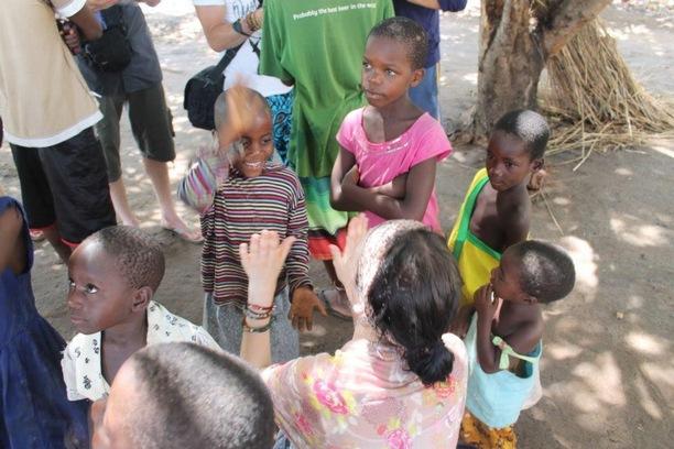 Jennifer playing with kids 1