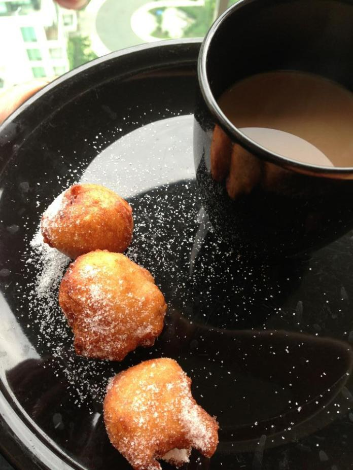 Street foods in Nigeria: puffpuff