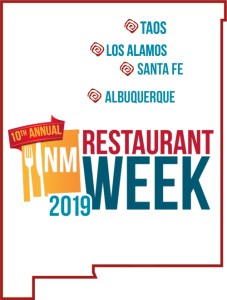 Los Alamos/Taos Restaurant Week 2019 @ Los Alamos