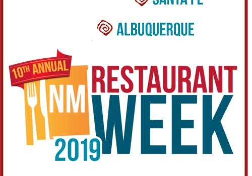 Los Alamos/Taos Restaurant Week 2019