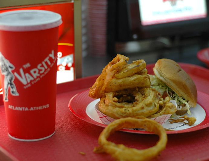 The Varsity; The Biggest and Best Fast Food Joint in Atlanta