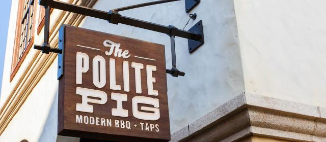 The Polite Pig – Disney Springs, Orlando Florida
